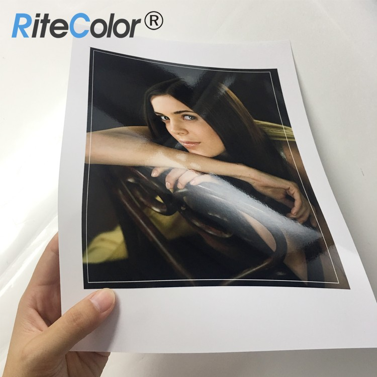 180gsm Inkjet High Glossy Photo Paper A4, Dye Ink Based