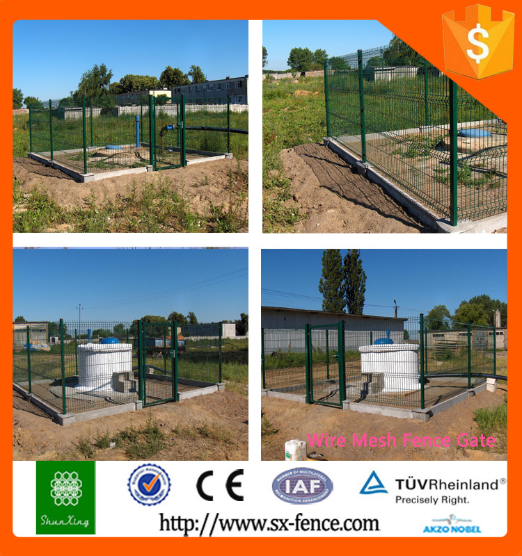 Iso9001 Welded Wire Fence Gate Design With Cheapest Price - Buy ...