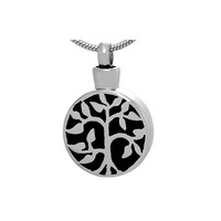 Wholesale Silver Jewelry Tree of Life Cremation Urn Jewelry Necklace & Pendant for Ashes