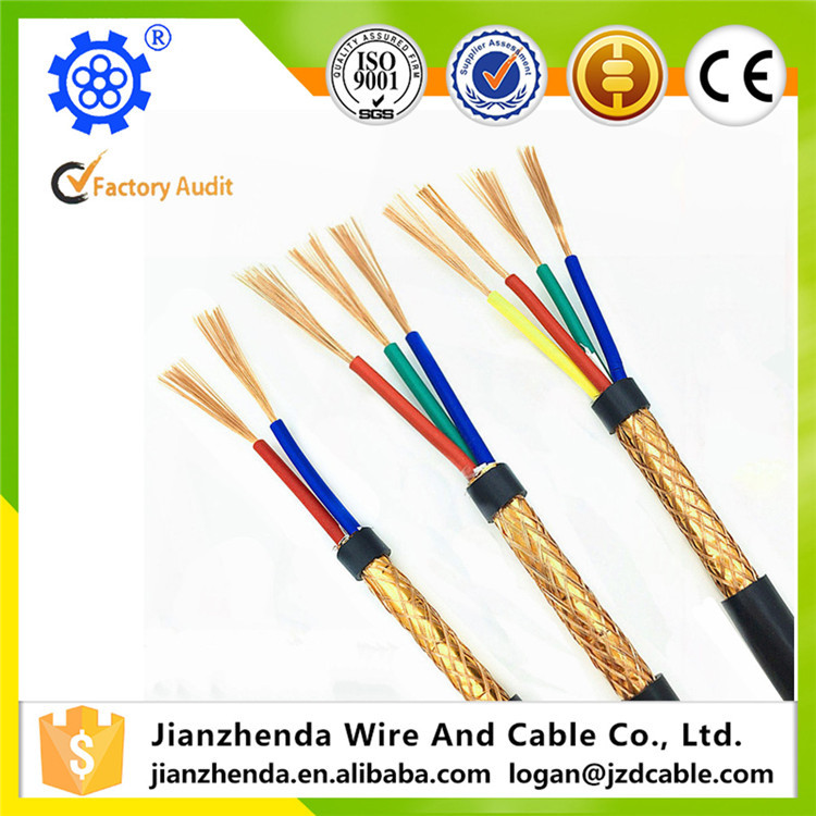 300V Power Cable with Copper Wire Shielding Flexible Cable RVVP Cable
