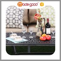 Prime quality outdoor patio furniture garden orange recliner sofa