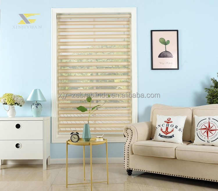 Atacado Tecido de Zebra Blinds Windows
