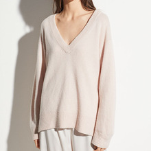Warm และ Soft V คอผู้หญิงเสื้อกันหนาว <span class=keywords><strong>Cashmere</strong></span>