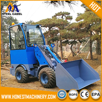 small garden tractor with front end loader for sale