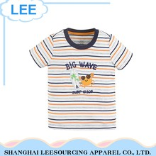 New Fashion Eco-Friendly Grey Baby Kids Cotton Tshirt