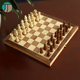 New foldable varnished chess sets india