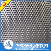 Own style galvanized perforated metal mesh punched netting