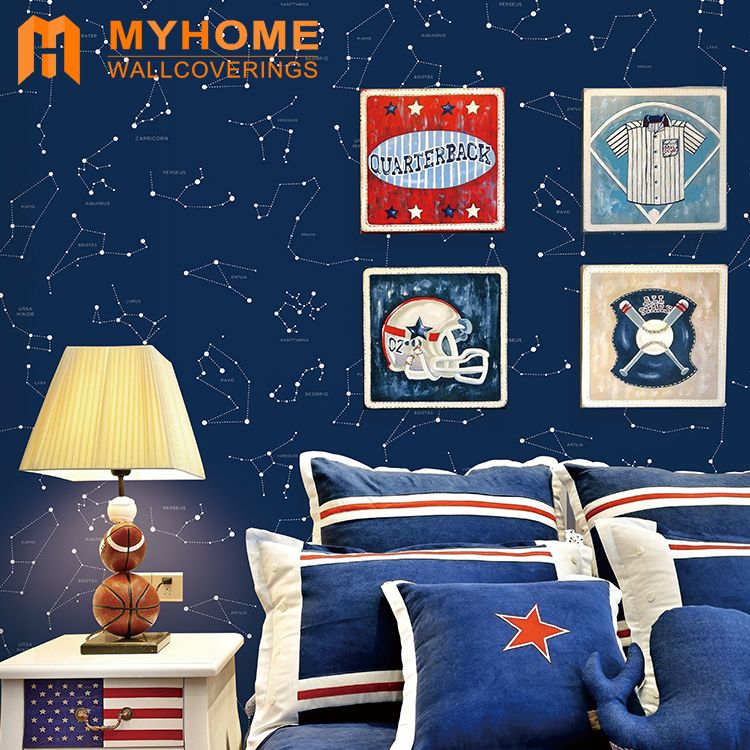 New arrival cartoon decoration wallpaper for kids