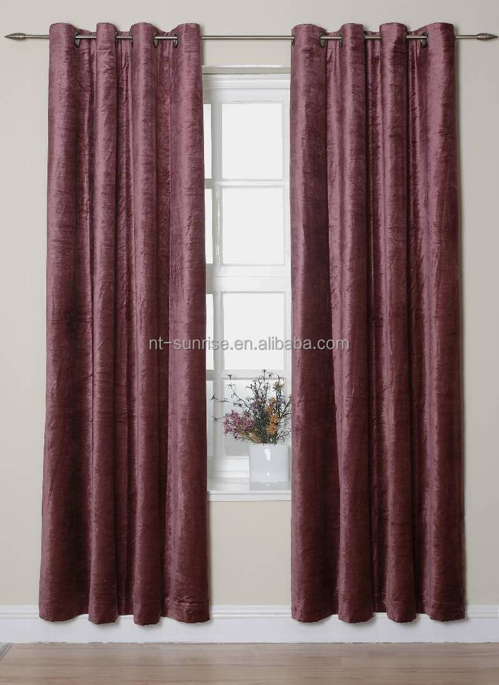 curtain with blackout curtain yarn dyed curtain made in china