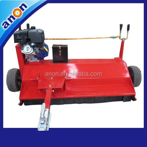 ANON heavy-duty flail mower electric ride on lawn mower for sale