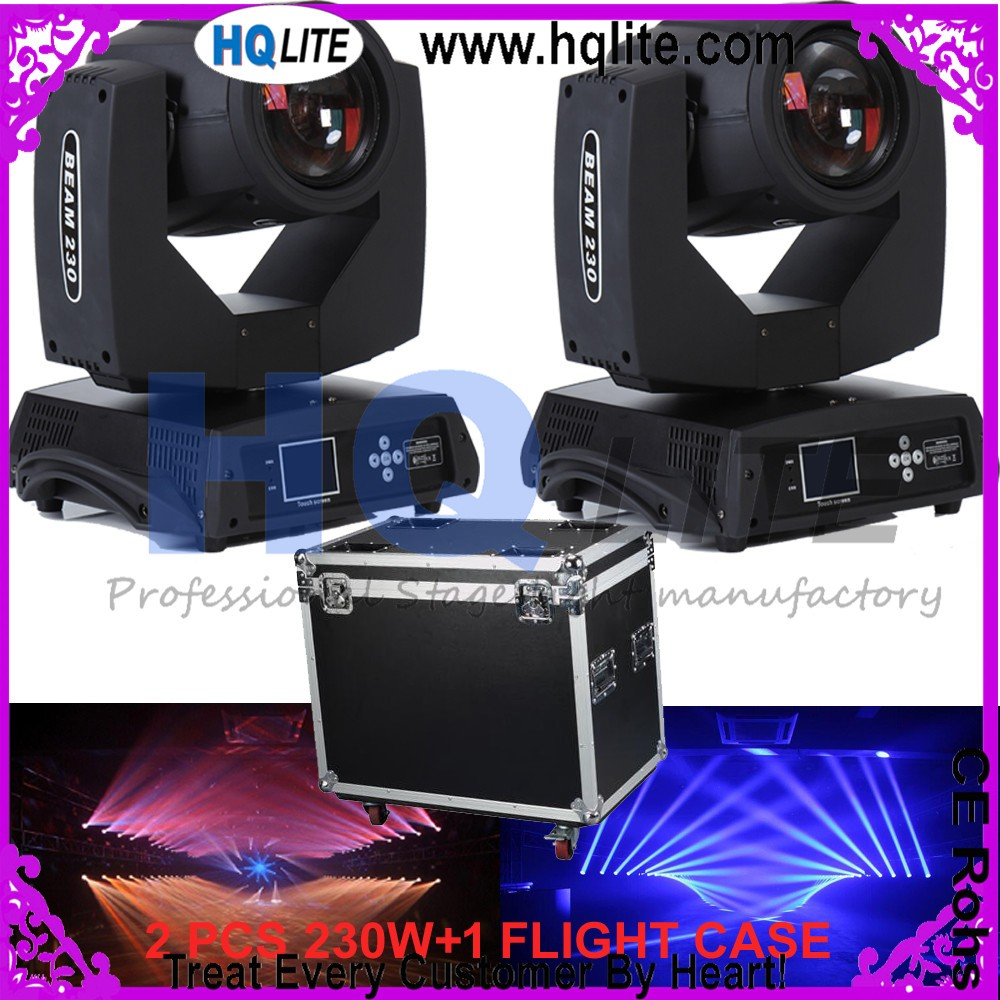 moving heads 7R beam 230 moving head light beam r7 230w moving beam 7r moving head flight case