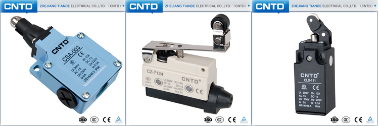 CNTD brand Factory Supply Price Micro Switch T125 5E4 5A 250VAC with Screw Terminal Z-15GW-B(CM-1701)