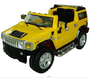 Kids 12v Licensed Ride On Car Hummer 2 4g Remote Control Door Can
