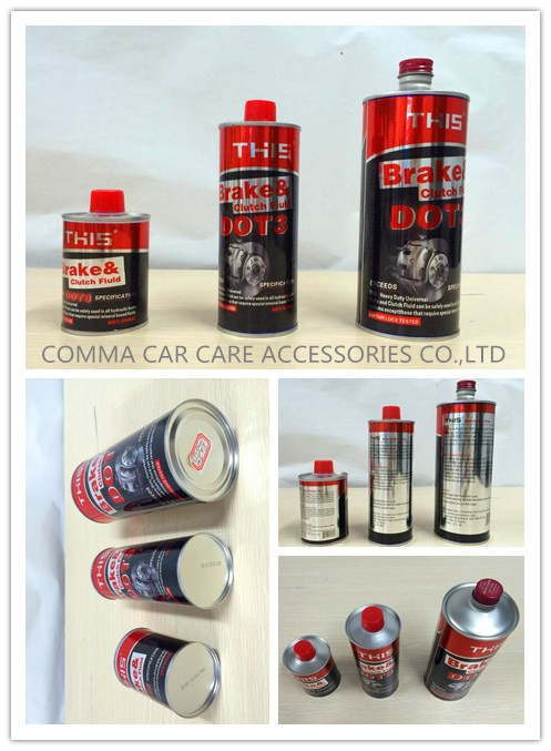 New formula ISO9001 Super brake oil dot 5 8 plastic bottle for brake fluid dot 3 4 additives