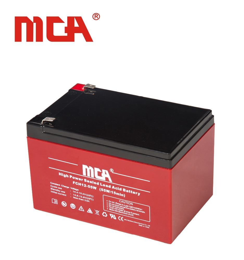 High quality 12V 12Ah VRLA/lead acid/Rechargeable Battery for USP