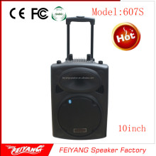 Rechargeable battery portable speaker with subwoofer