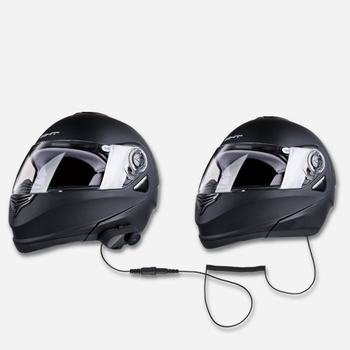 Rider To Rider Microphone Speaker Soft Cable Headset Kit For Motorcycle  Helmet Bluetooth - Buy Rider To Rider Microphone,Speaker Soft Cable Headset