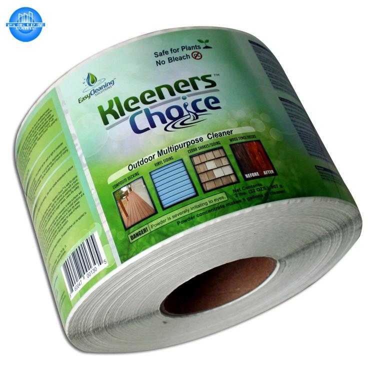 באיכות גבוהה מותאם אישית הדפסת מדבקת דבק מוצר אריזת תוויות