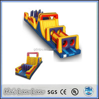 Kids Outdoor Interactive Inflatable Obstacle Sport Games