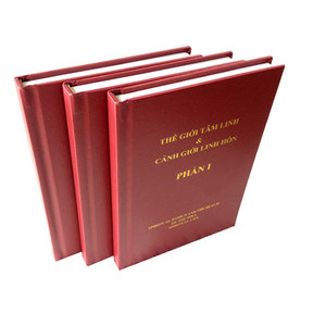 China book printing factory with hardcover embossed cover books printing
