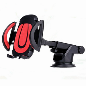 Universal Adjustable Long Neck One Touch Car Windshield Dashboard Retractable Flexible Suction Phone Holder Car Mount