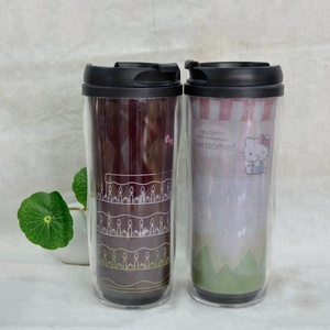 Cheap Price Color Changing Magic PP Mug Plastic Material Children Sports Tumbler Cup