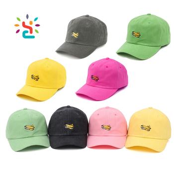 094784022d2 Wholesale men dad hat custom 3D embroidery logo baseball cap 6 panel curve  sport hats