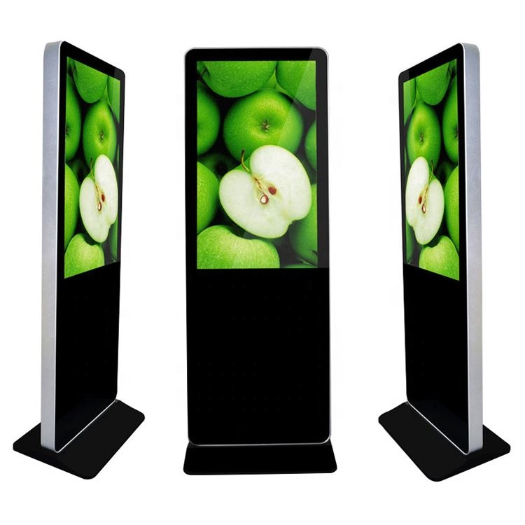 42 inch stand LCD floor stand full hd indoor kiosk display reclame interactieve multi photo touchscreen