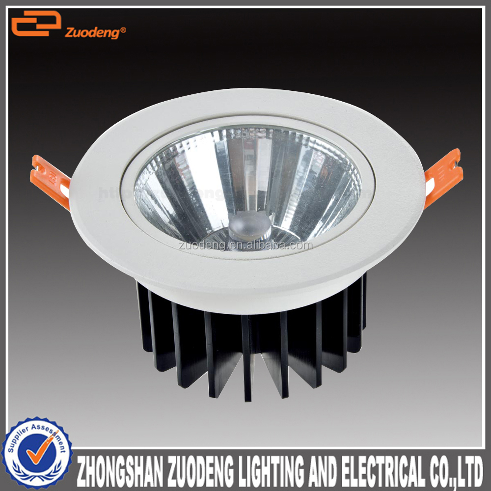 high lumen adjustable dimmable round recessed 4 inch 32w led downlight