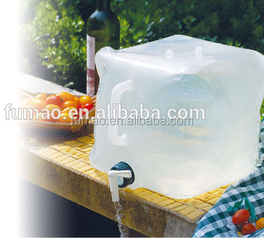 5L 20L LDPE Collapsible foldable 물 container 물 carrier