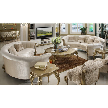New Classic Victorian Style Leather Sofa