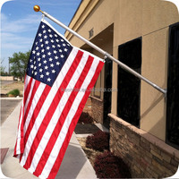 Stainless Steel Wall Mount Flag Pole Manufacturer