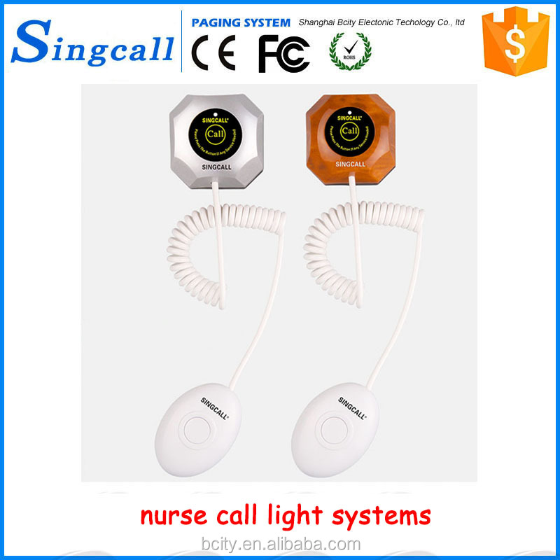 Humanized handle line wireless hospital call button