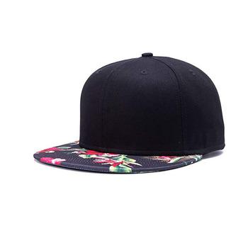 d1ca820a10a7 Floral Flor Hawaiana De Algodón Ajustable Snapback Sombreros De Los Hombres  De Las Mujeres Hip-hop Plano Bill Gorras De Béisbol - Buy Gorras De ...