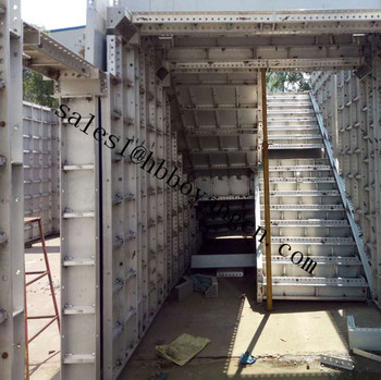 Factory Price Concrete Slab Roof Formwork /concrete Steel Formwork For  Walls China Factory