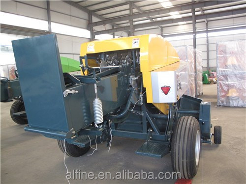 Hot sale good performance square hay baler machine