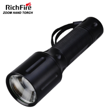 Aluminum copper 10W zoom Army Police tactical flashlight torch