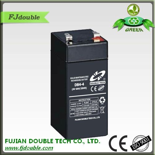 Hot sale exide 4v 4ah battery and rechargeable batteries