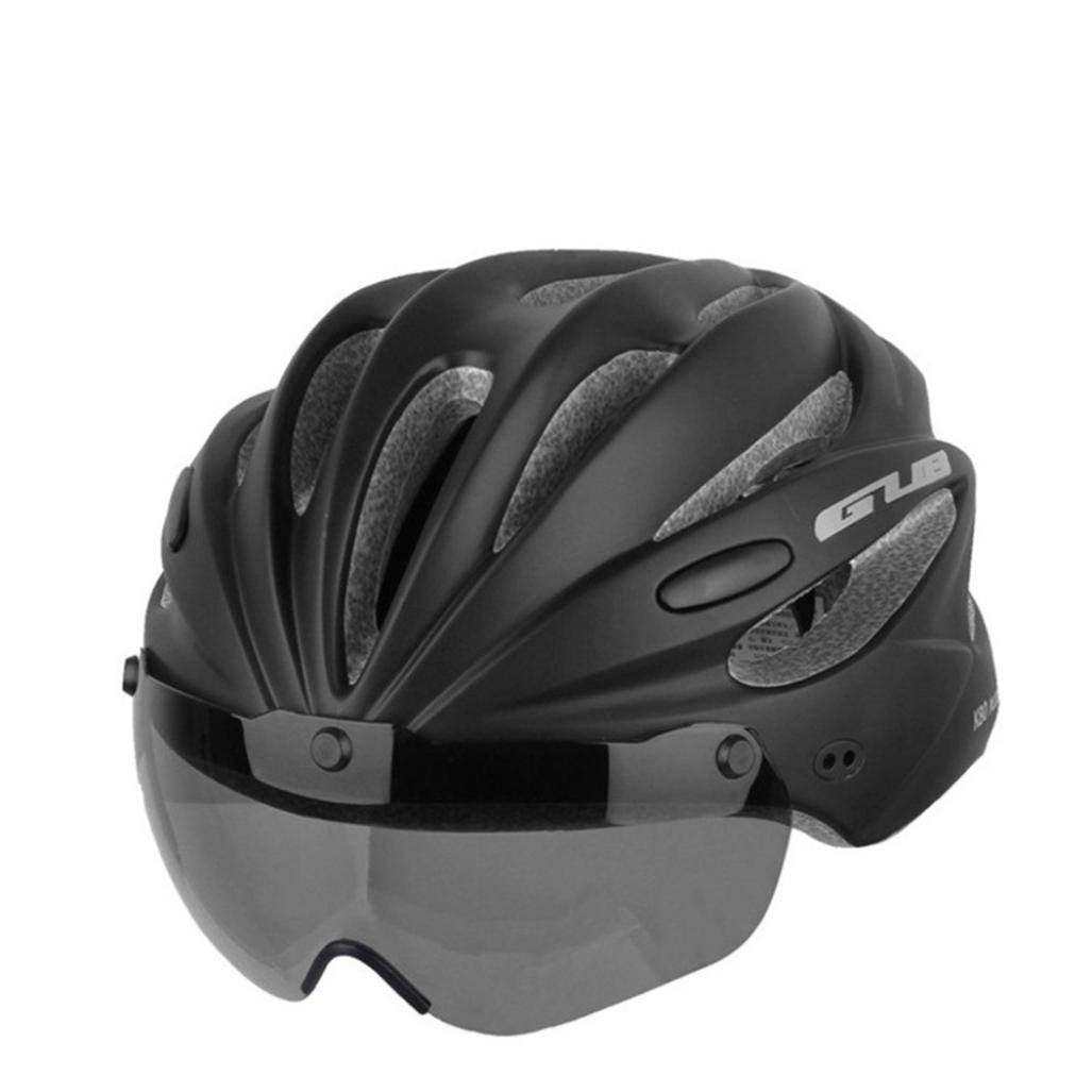 GUB K80 [ Magnet Goggles Integrated Helmet ] Mountain Bike ride Helmet [ EPS Wear Glasse Helmet ]