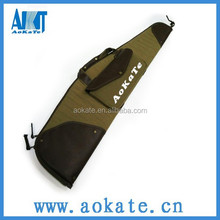 canvas and leather hunting rifle gun bag