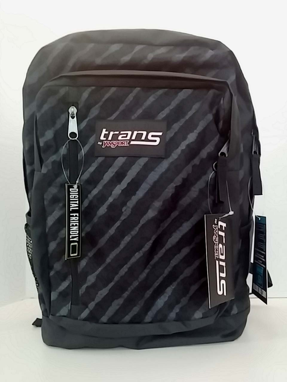 8f78a3ee5d68 Buy Jansport Trans Megahertz II Backpack - Grey with Stripes in ...