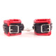 Red Leather Bondage Restraints Flirting Erotic Sex Handcuff Wrist Toys For Couple Game