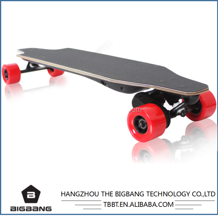 HANGZHOU THE BIGBANG maple board Brushless motor durable use samsung Li-Battery electric longboard factory cheap sale