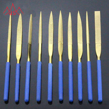 JIEFENG Hand Polishing Tool Half Round Needle File
