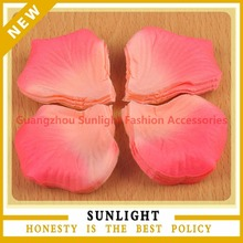 Guangzhou sunlight fashion accessories co ltd rhinestone cake non woven rose petals for wedding decoration junglespirit