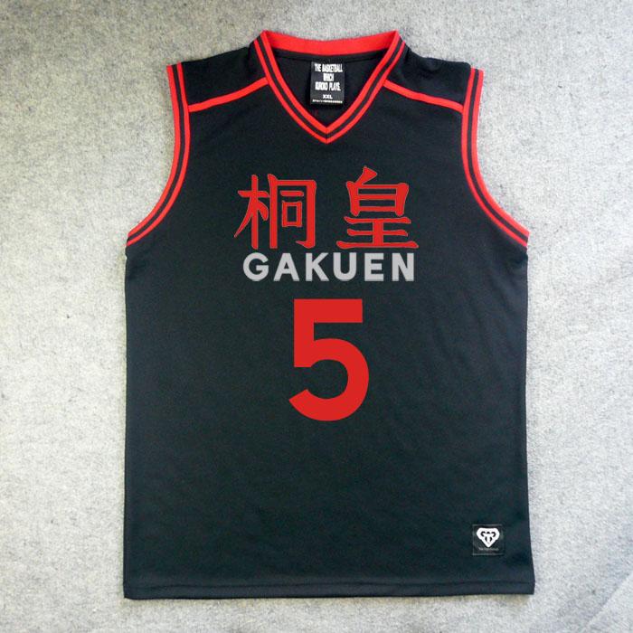 Anime Kuroko No Basuke Basket Tops School Basketball Team