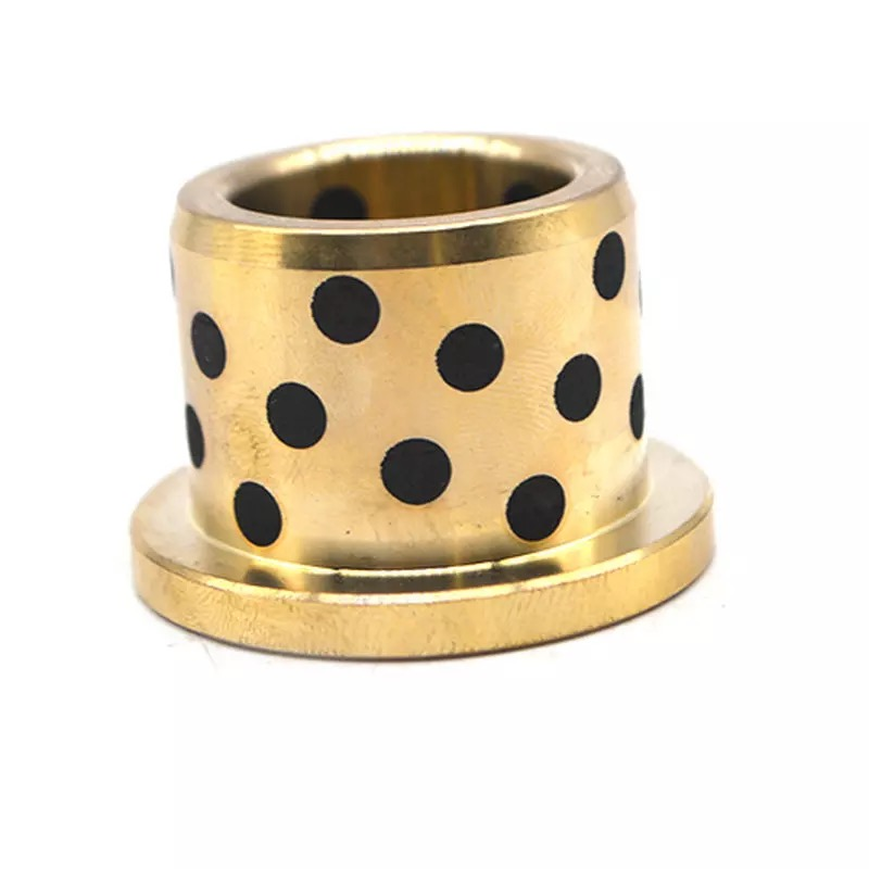 Bofit bronze bushing,slide copper bush , flanged brass bimetal bushing OEM available