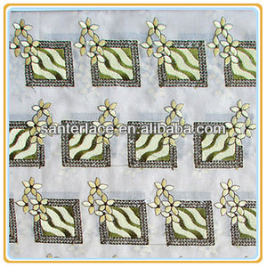 latest embroidery designs with stone work Hangzhou