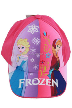 Hot Sale Crochet Frozen Princess Elsa   Anna Child s Baseball Cap Hat HT2516 81af12115e2