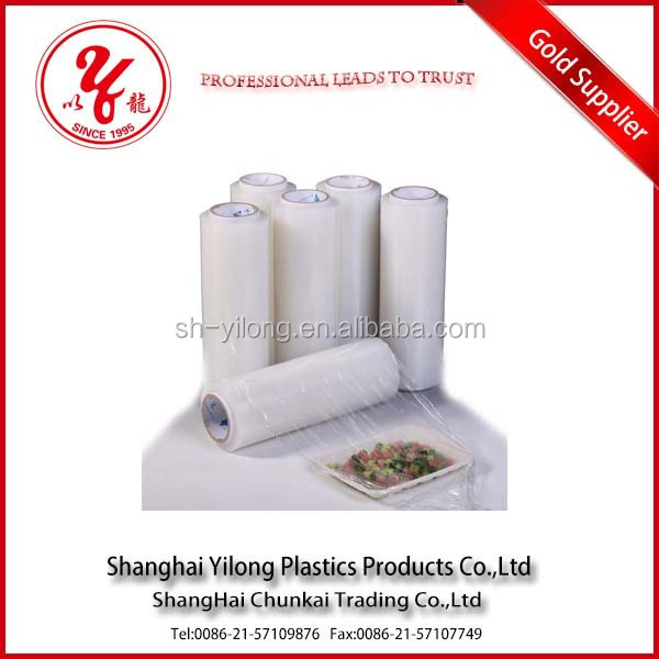 Accept custom order plastic film food grade cling film for packaging